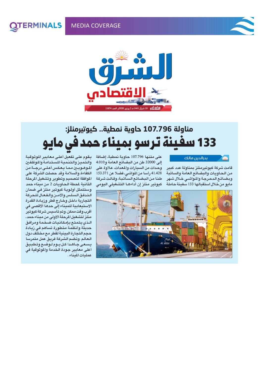 Media Coverage – 02 Jun 2020